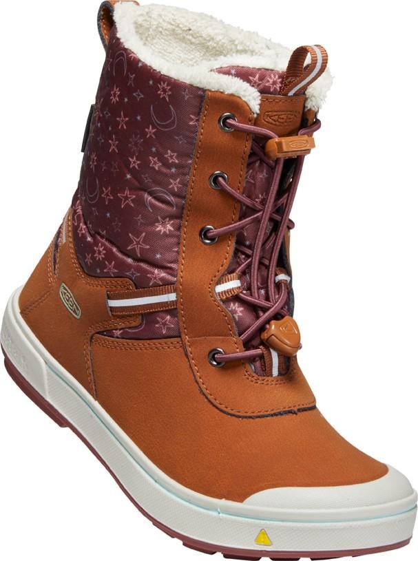 Keen KELSA TALL WP JR caramel cafe/harbor gray Velikost: 37 dětské boty