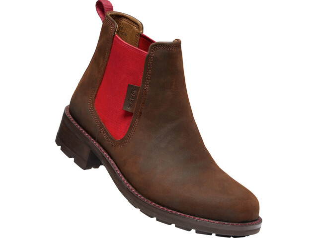 Keen OREGON CITY CHELSEA W snuff/tibetan red Velikost: 37 dámské boty