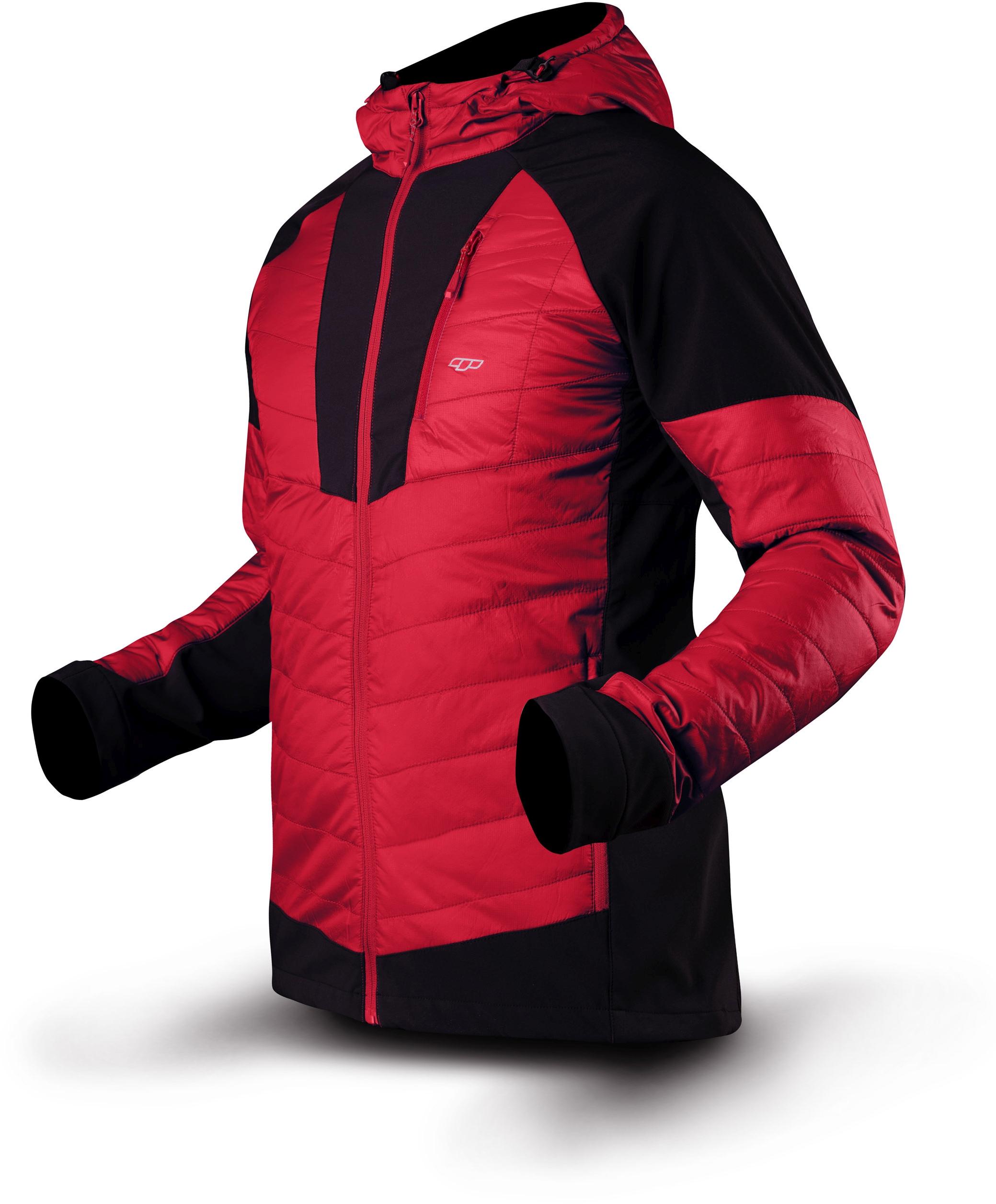 Trimm pánská bunda MAROL red Velikost: M pánská bunda