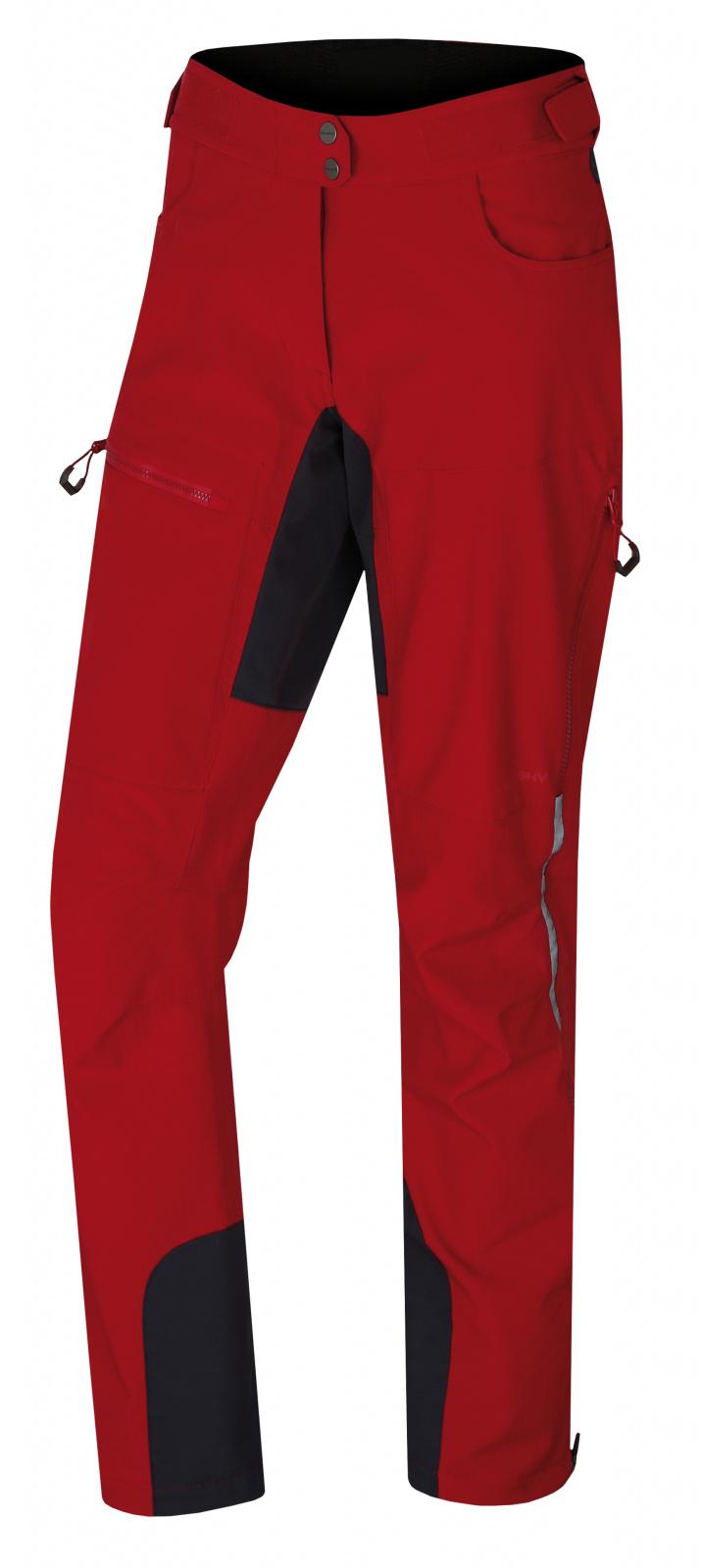 Husky Dámské softshell kalhoty Keson L červená Velikost: M