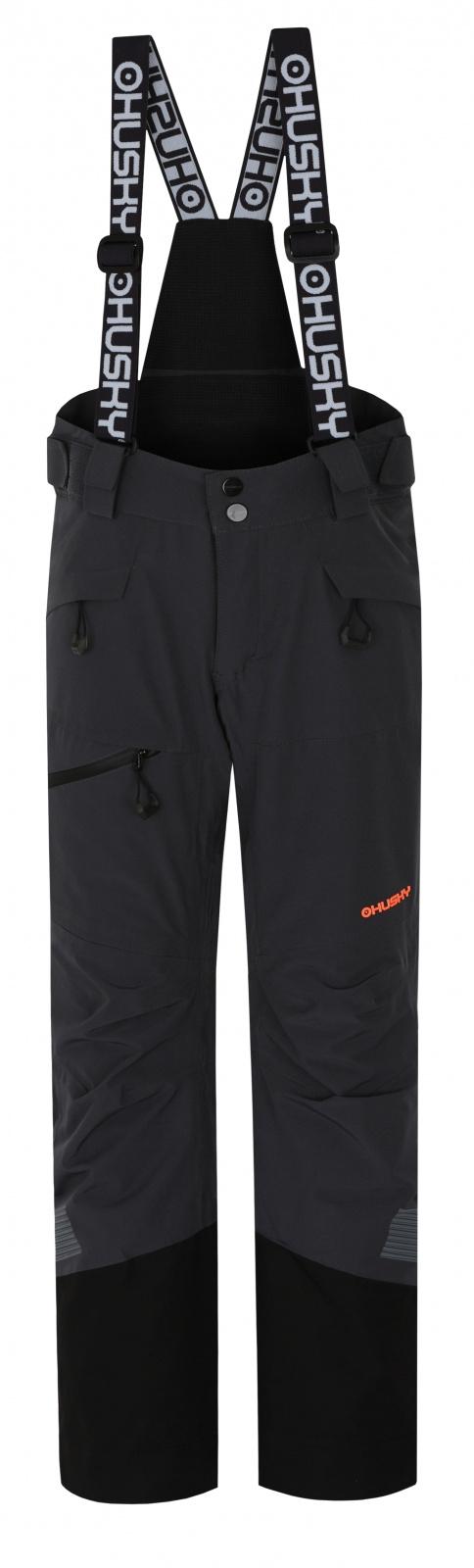 Husky Dětské lyžařské kalhoty Gilep Kids tm. šedá Velikost: 134