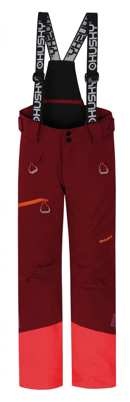 Husky Dětské lyžařské kalhoty Gilep Kids purpurová Velikost: 134