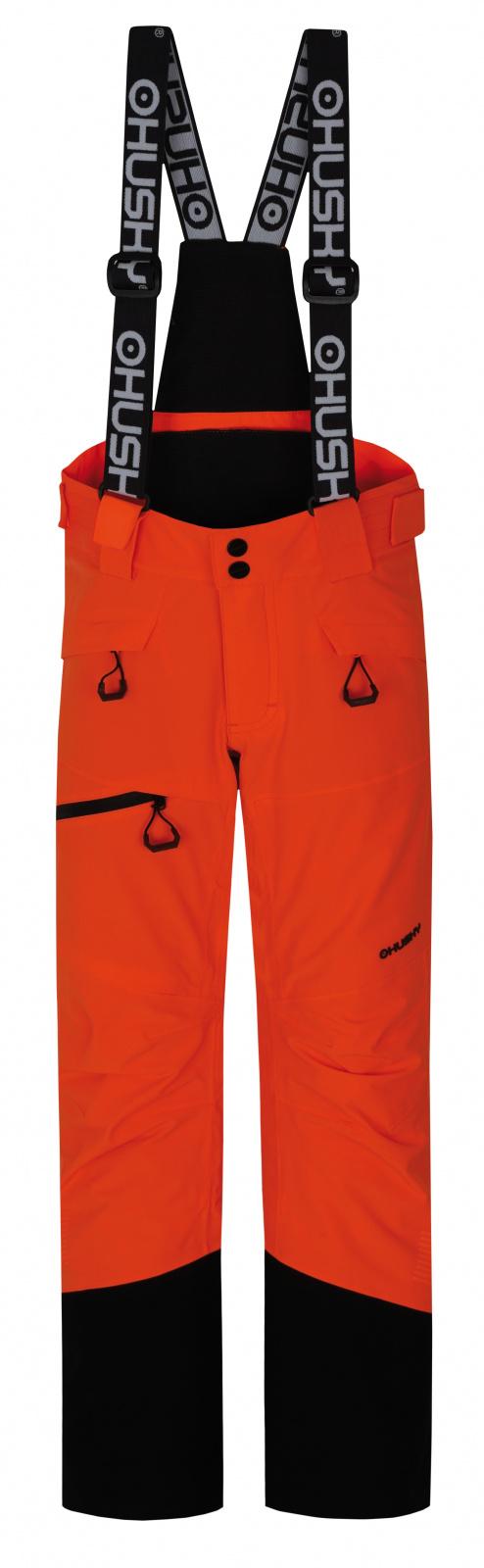 Husky Dětské lyžařské kalhoty Gilep Kids neonově oranžová Velikost: 134
