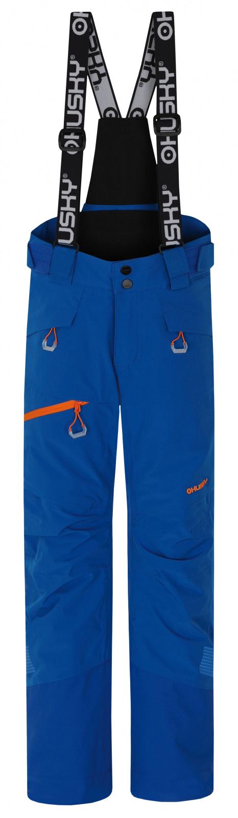 Husky Dětské lyžařské kalhoty Gilep Kids modrá Velikost: 134