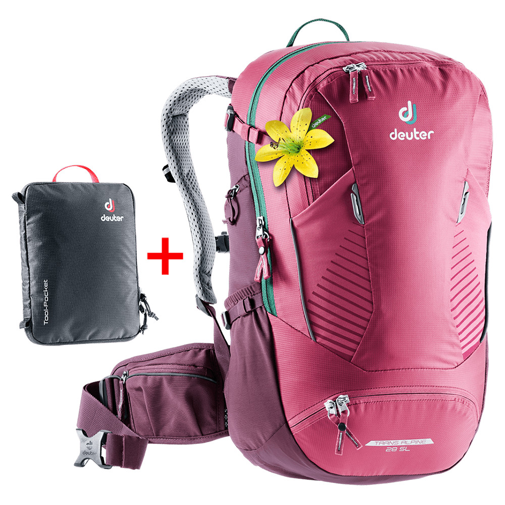 Deuter Trans ALPINE SL 28l ruby-blackberry