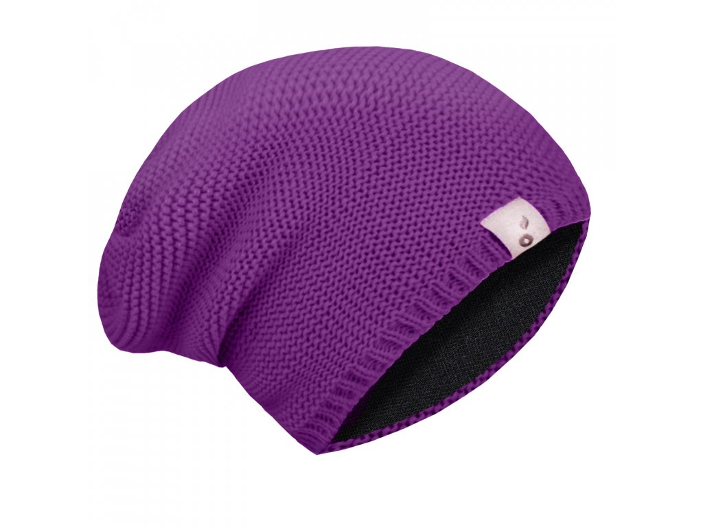 Unuo dětská čepice pletená ostružinová Velikost: M