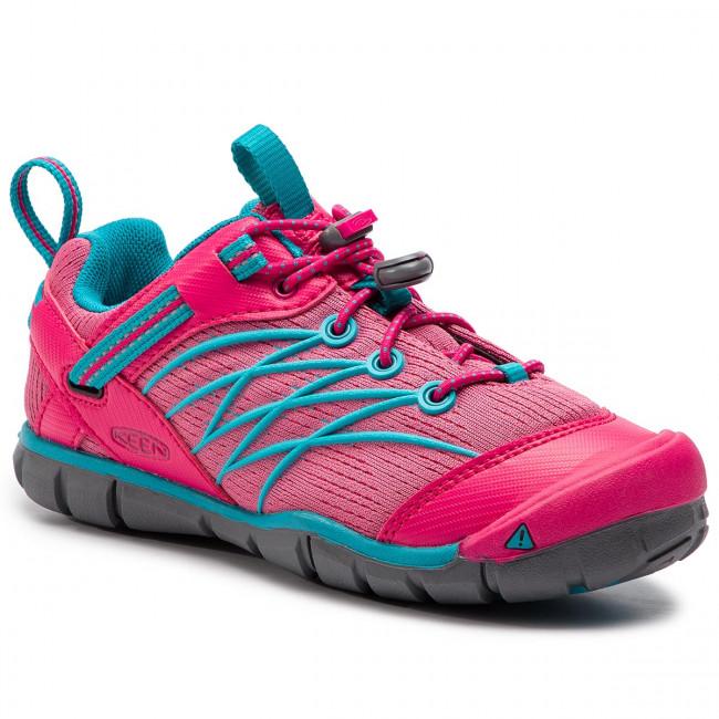 Keen CHANDLER CNX YOUTH bright pink/lake green Velikost: 37 dětské boty