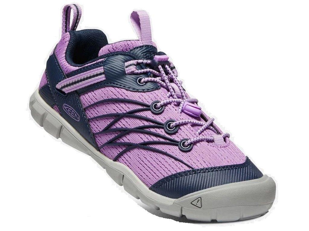Keen CHANDLER CNX YOUTH african violet/navy Velikost: 37 dětské boty