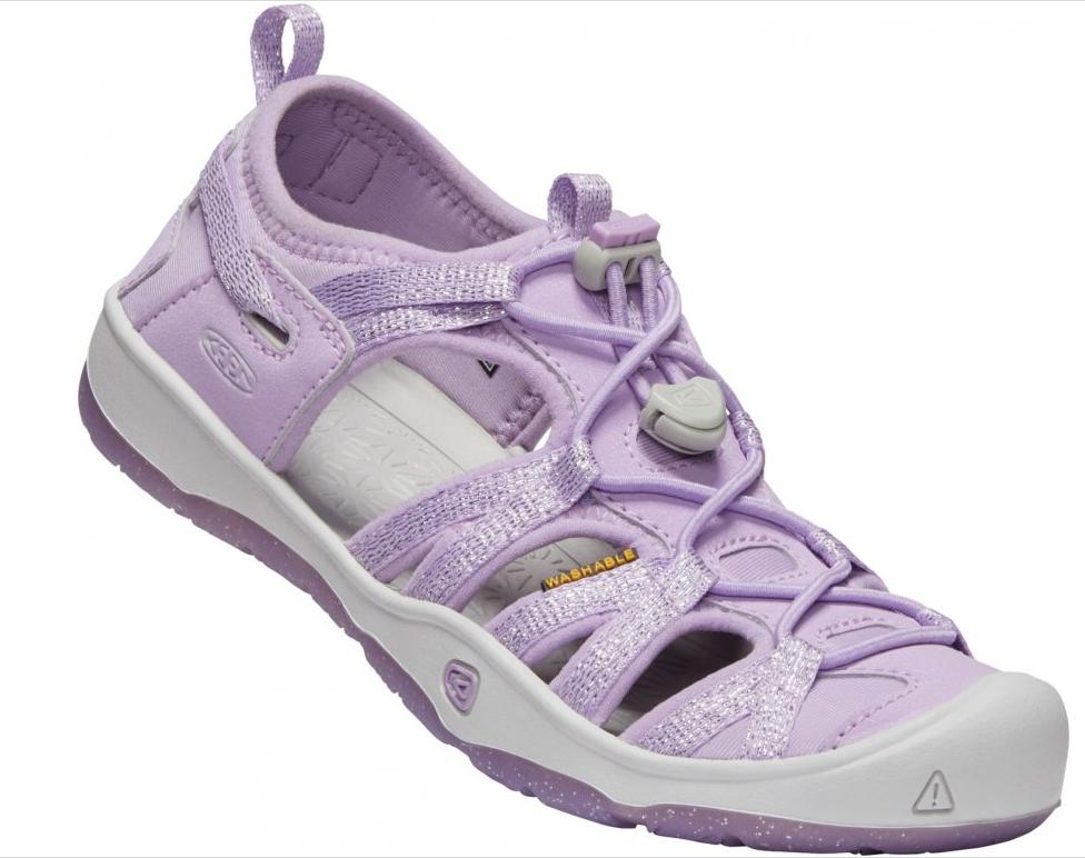 E-shop Keen MOXIE SANDAL YOUTH lavender fog/metallic