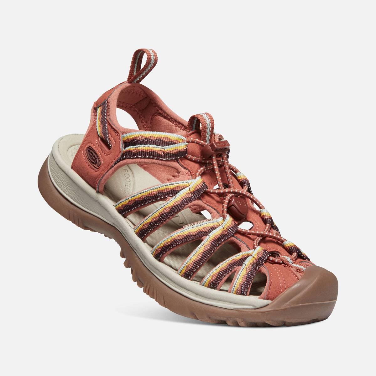 Keen WHISPER WOMEN redwood Velikost: 38 dámské sandály