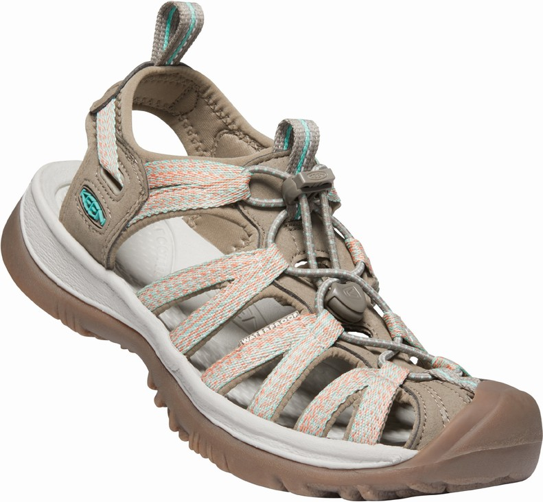 Keen WHISPER WOMEN taupe/coral Velikost: 36 dámské sandály