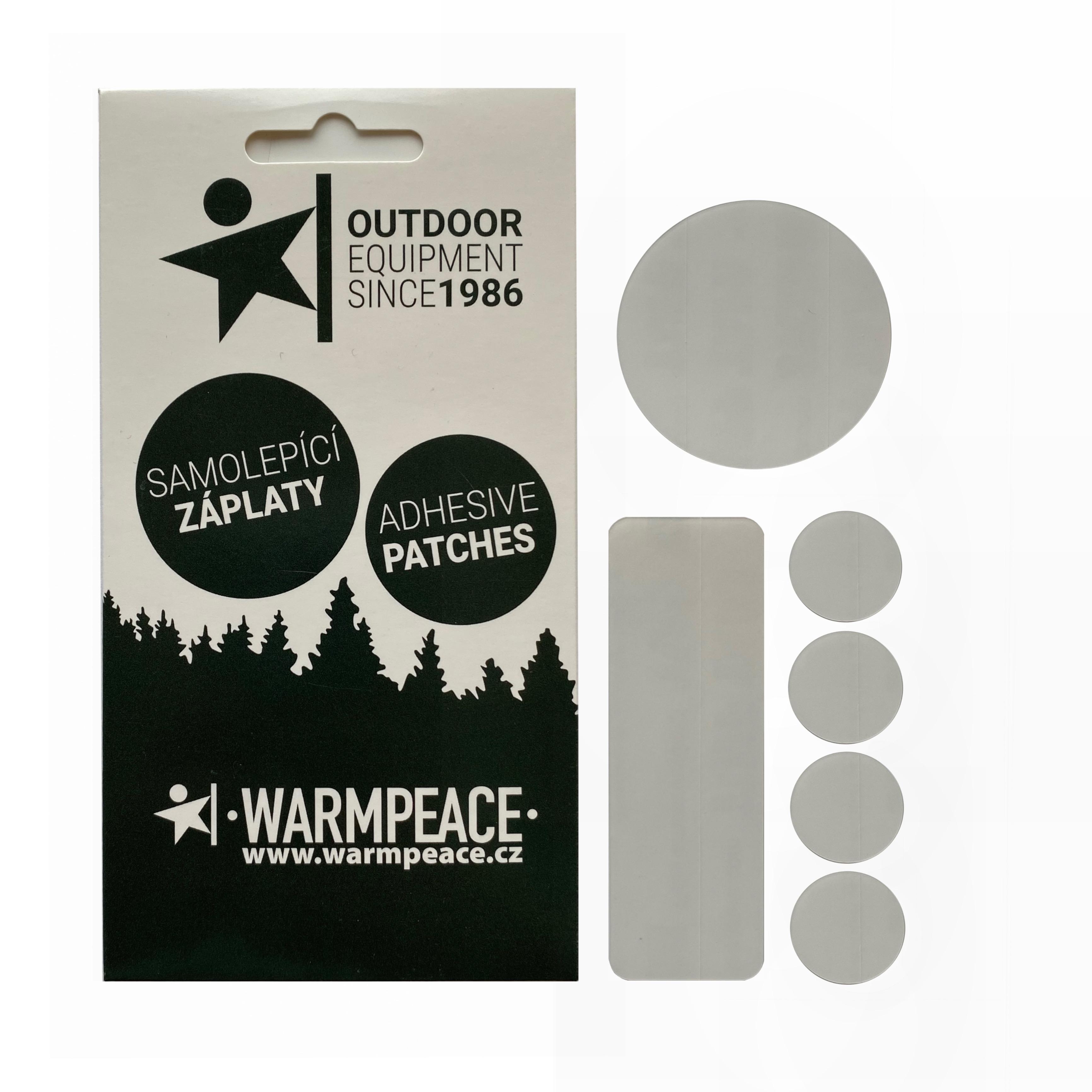 Warmpeace Záplaty samolepící - mix 6 ks