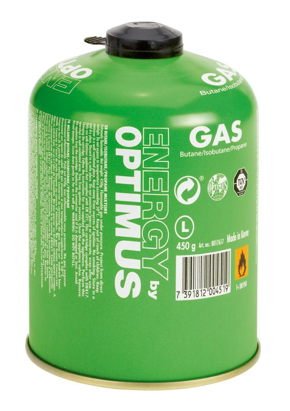 Optimus Plynová kartuše 450 g Butan / Isobutan / Propan