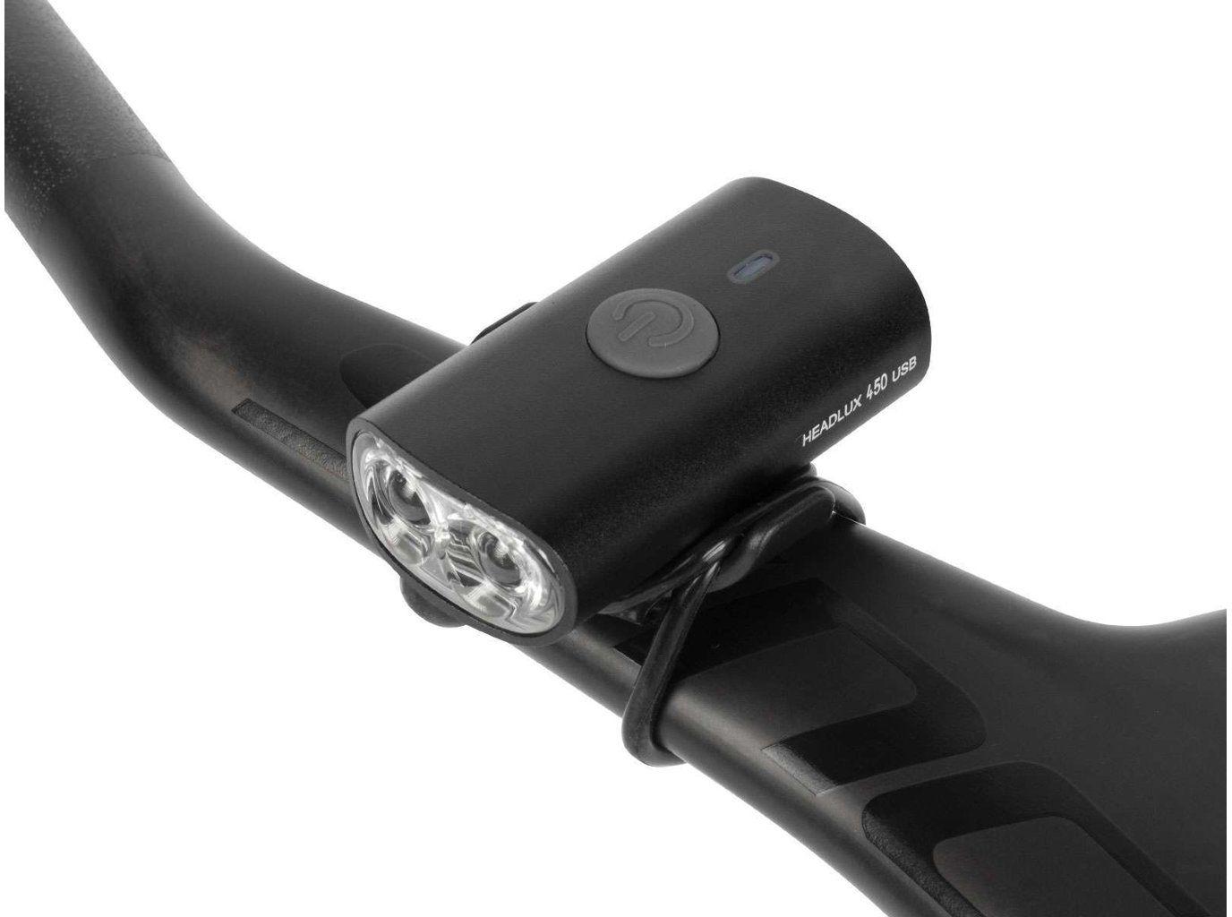 TOPEAK světlo na helmu HEADLUX USB 450 Velikost: UNI