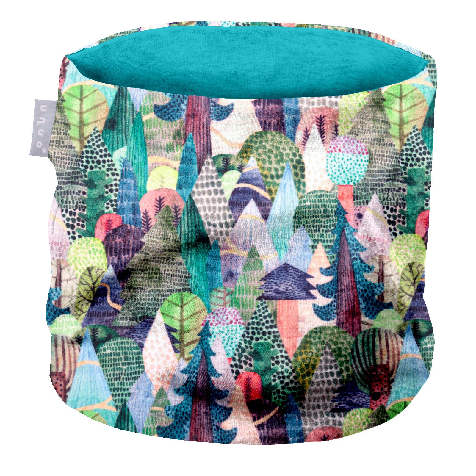 Unuo, Dětský nákrčník z fleecu, Kouzelné stromy Velikost: UNI