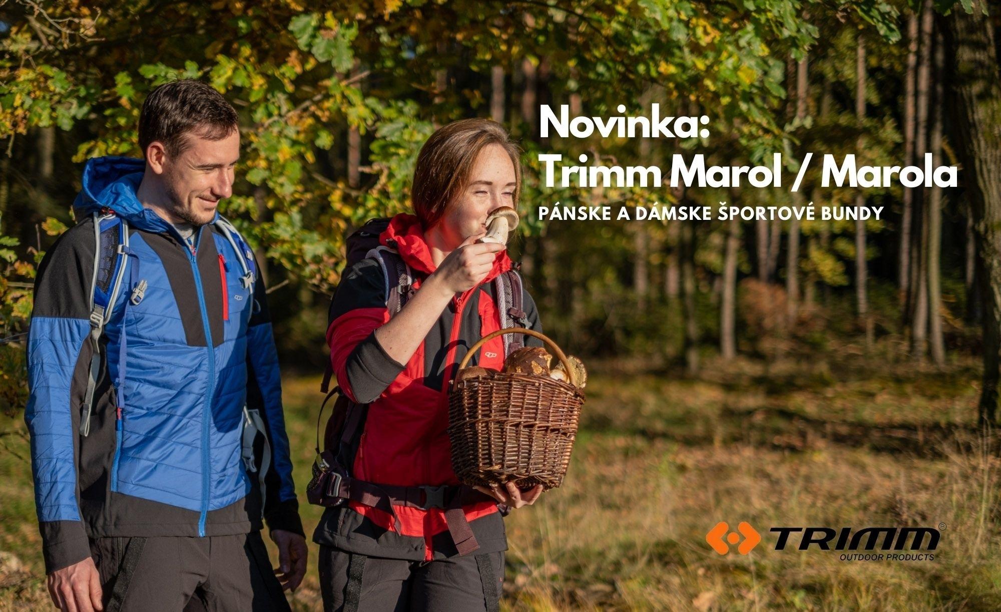 Trimm Marol / Marola. Extrémne priedušné, ľahké skialpové a touringové bundy vhodné aj pre iné športové aktivity.