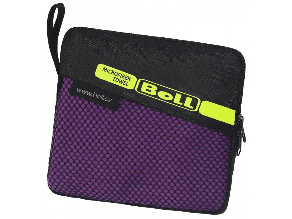 251405 boll litetrek towel m violet
