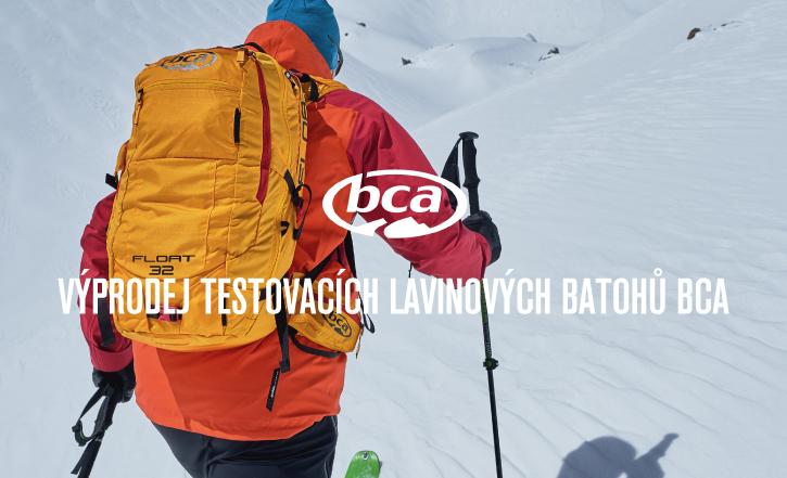 výprodej testovacích batohů BCA