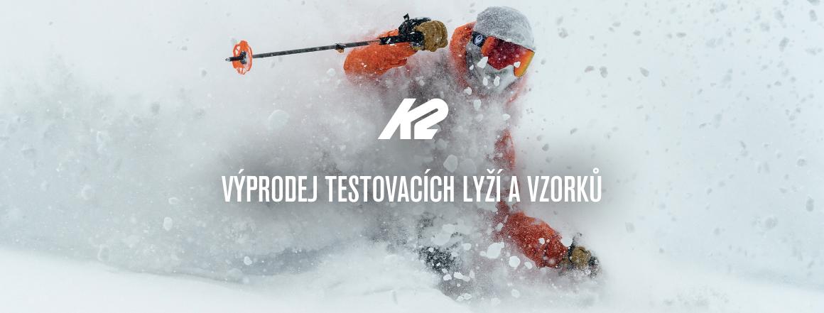 Výprodej a testovací modely K2 a BCA (lyže, inline brusle, lavinové batohy)
