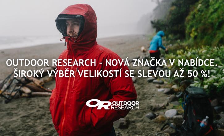 Outdoor Research - nová značka v nabídce