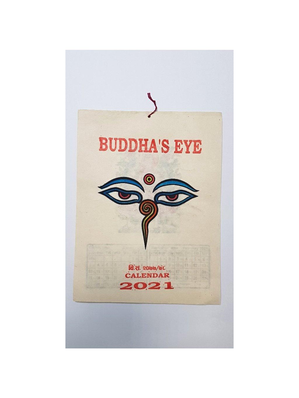 nepálský kalendář 2021 - Buddha's Eye