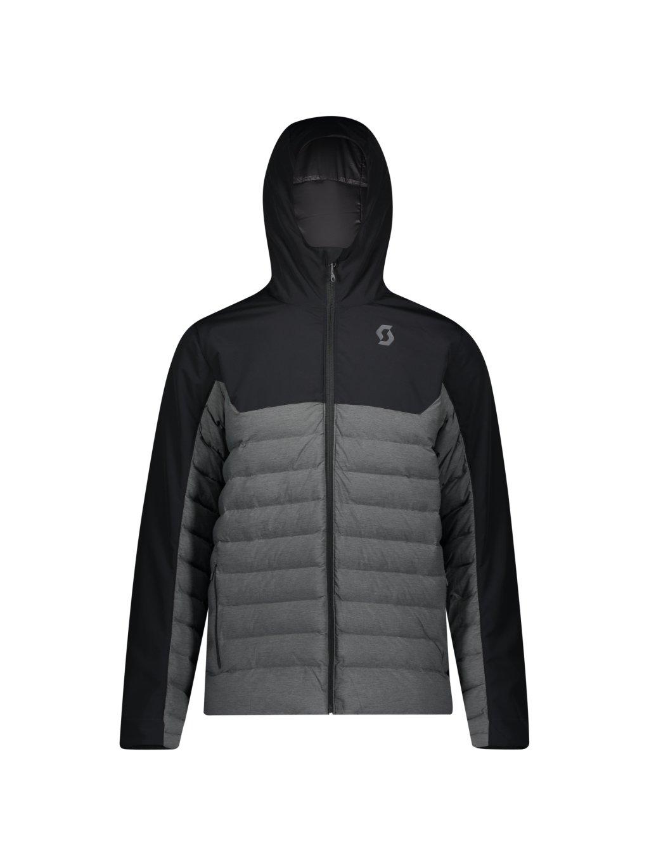 SCOTT Jacket M's Insuloft Warm, blk/dr gry m