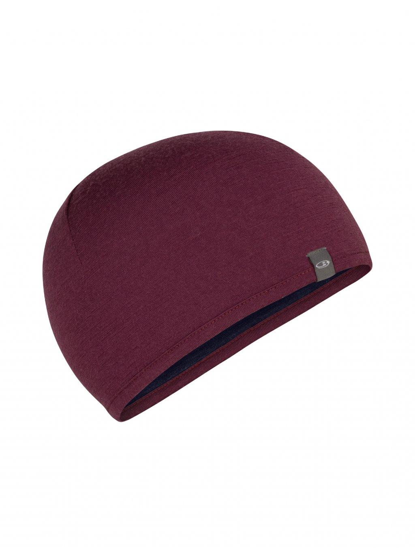 ICEBREAKER Adult Pocket Hat, Brazilwood/Midnight Navy (vzorek)