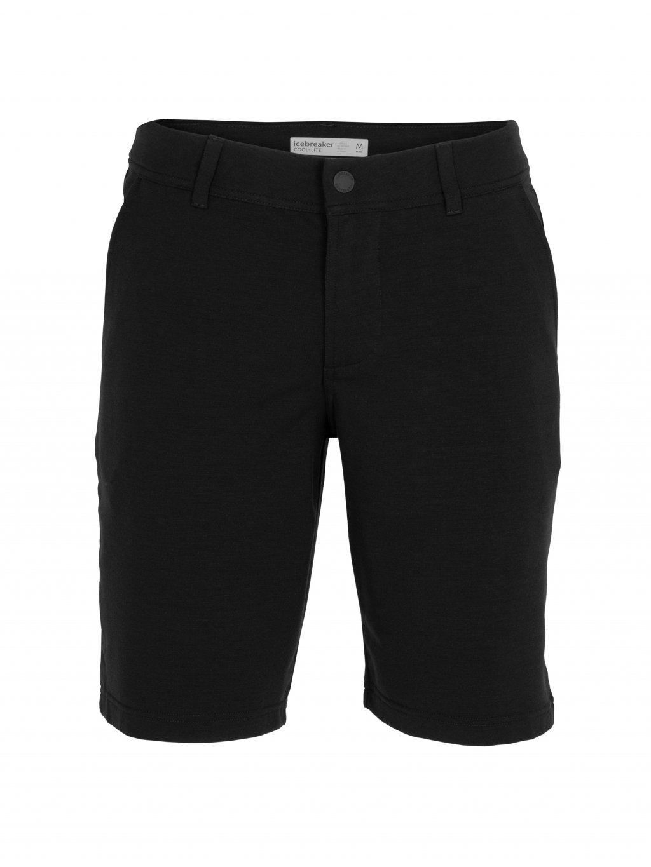 ICEBREAKER Mens Aaronville Shorts, Black (vzorek)