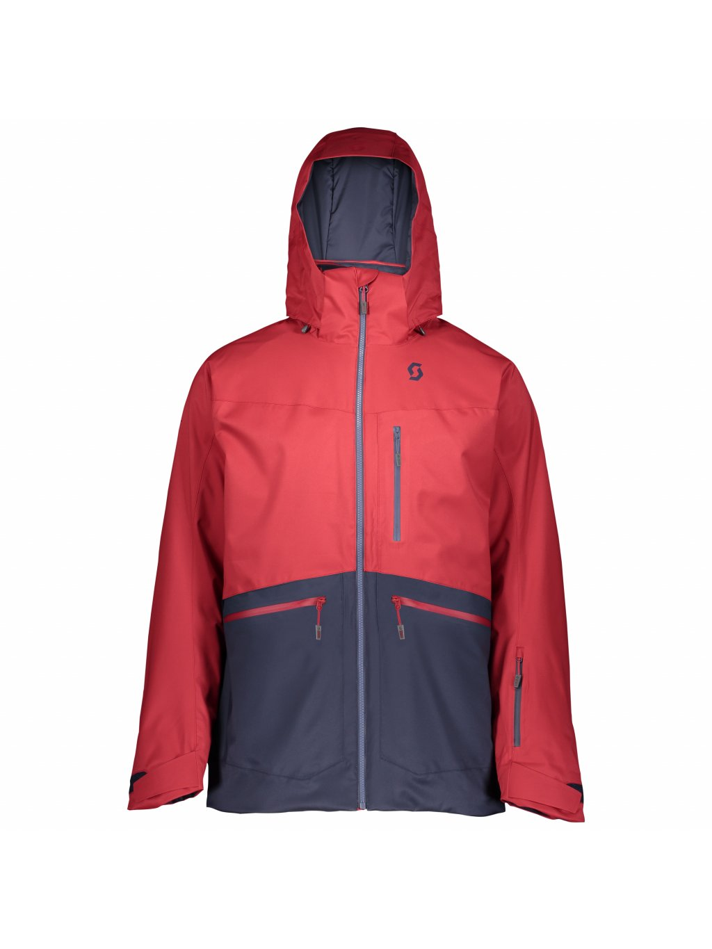 SCOTTJacketM'sUltimateDRX, wine red/blue nights