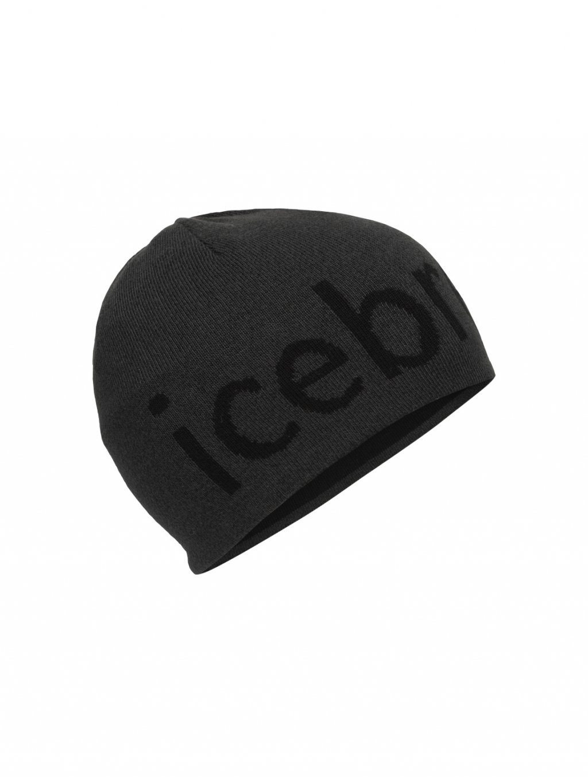 ICEBREAKER Unisex Icebreaker Beanie, Jet Heather (vzorek)
