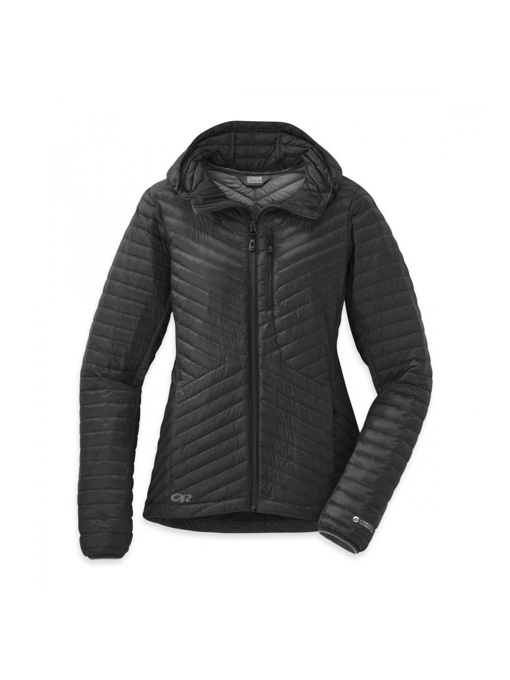 OUTDOOR RESEARCH Women's Verismo Hooded Down Jacket, Black (velikost XS)