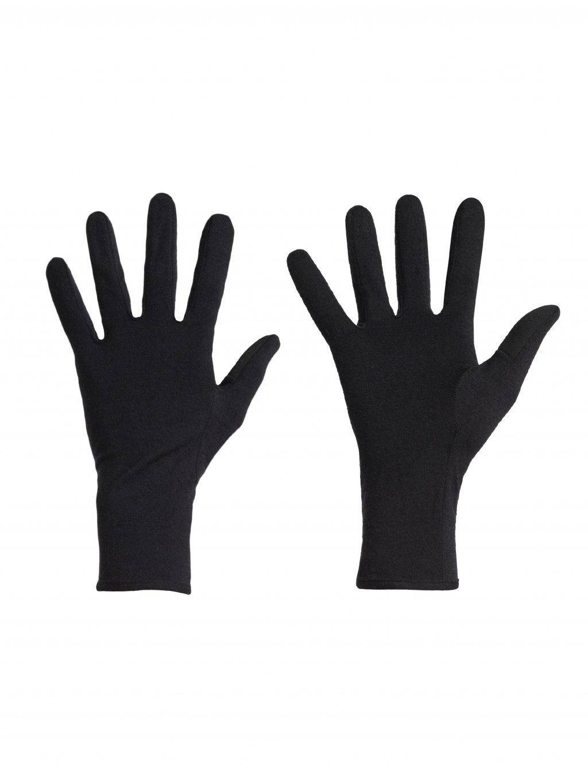 ICEBREAKER Adult 260 Tech Glove Liner, Black