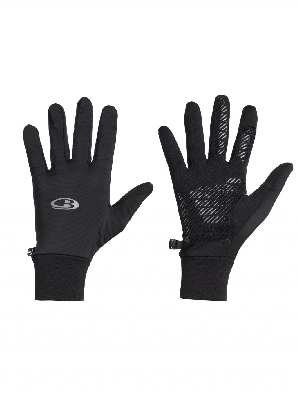 ICEBREAKER Adult Tech Trainer Hybrid Gloves, Black