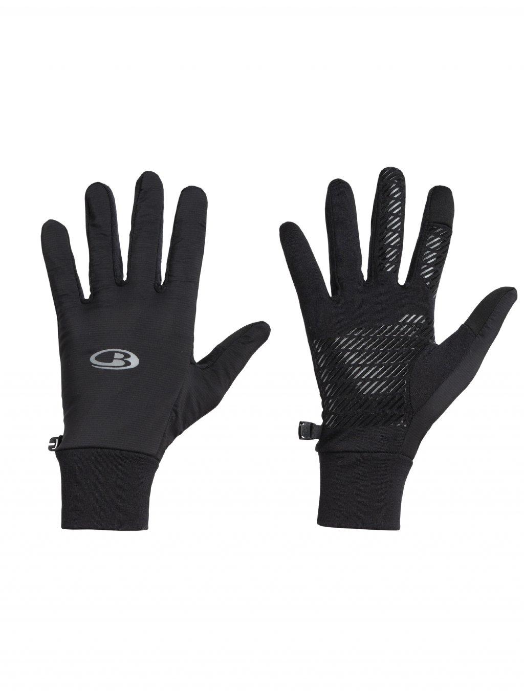 ICEBREAKER Adult Tech Trainer Hybrid Gloves, Black
