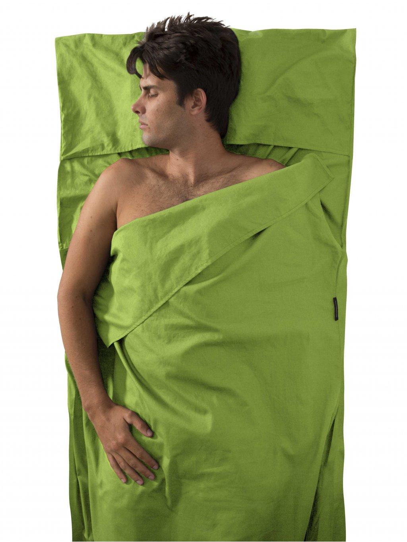 AYHAOSGN CottonLiner TravellerWithPillowInsert Green 02