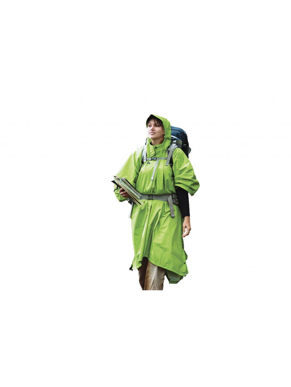 APONCHOGN NylonTarpPoncho Green 01