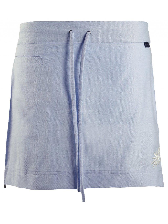 SKHOOP Letní funkční mini sukně Flora, blue denim