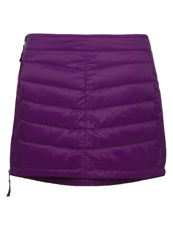 SKHOOP Prošívaná zimní péřová sukně Down Mini, aster