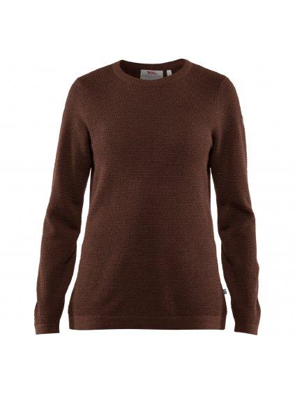7323450540159 FW19 a high coast merino sweater w fjaellraeven 21