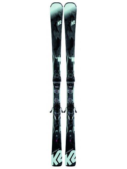 K2 ANTHEM 74 + ER3 10 COMPACT QUIKCLIK black - seafoam SET (2019/20) (velikost 167 cm)