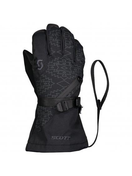 SCOTT Glove JR Ultimate Premium, black