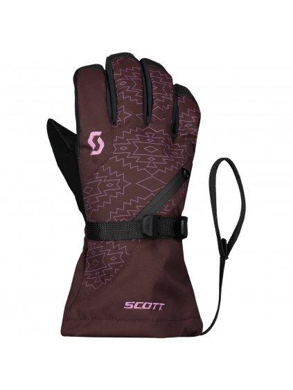 SCOTT Glove JR Ultimate Premium, rd fu/cas pi