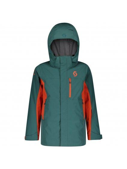 SCOTT Jacket JR B Vertic Dryo 10, jas gr/or pu