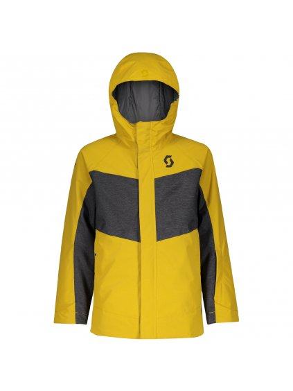 SCOTT Jacket JR B Vertic Dryo, c yl/dk gr m