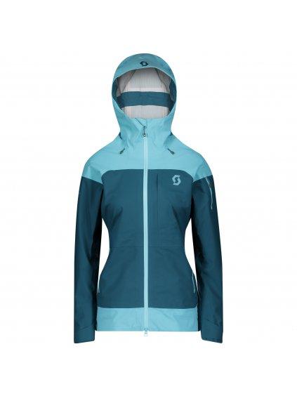 SCOTT Jacket W's Vertic 3L, br bl/maj bl