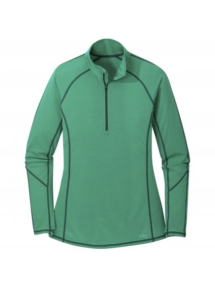 OUTDOOR RESEARCH Women's Enigma Half Zip, jade