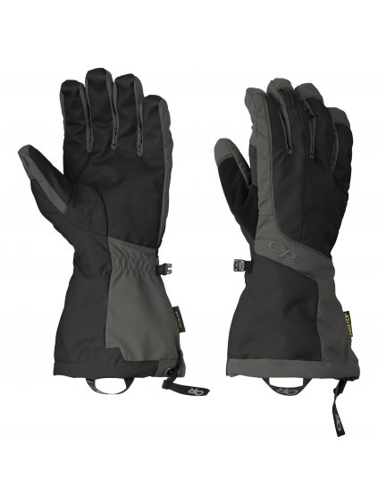 OUTDOOR RESEARCH Men's Arete Gloves, black/charcoal