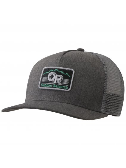 OUTDOOR RESEARCH Advocate Trucker Cap, charcoal heather