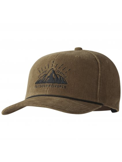 OUTDOOR RESEARCH Heritage Cord Trucker Cap, saddle