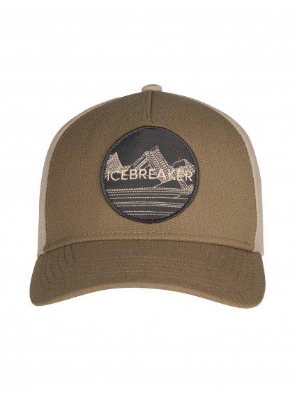 ICEBREAKER Adult Icebreaker Graphic Hat, Flint/British Tan (vzorek)